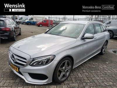 tweedehands Mercedes C180 Estate AMG Sport Edition Premium Pack | Trekhaak |