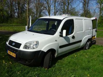 tweedehands Fiat Doblò 1.4 Maxi benzine mini camper project trekhaak 13-p