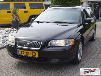 tweedehands Volvo V70 2.4D Edition 163 PK 2007 Handgeschakeld Zwart