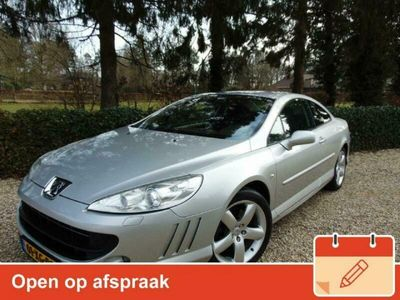 tweedehands Peugeot 407 Coupe 3.0-24V Féline Automaat 123.947km Clima / Cruise / S