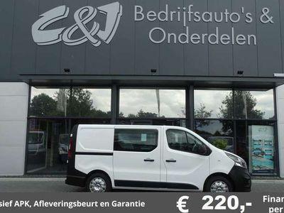 tweedehands Opel Vivaro 1.6 CDTI L1H1 Dubbele cabine 140 pk lease 220,- p/