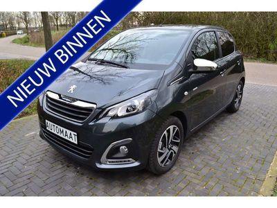 tweedehands Peugeot 108 1.0 e-VTi '19 STYLE AUTOMAAT LUXE UITV. 5400KM!
