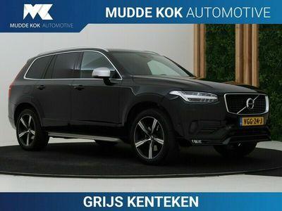 tweedehands Volvo XC90 2.0 D5 AWD R-Design GRIJS KENTEKEN | Camera | ACC | On Call | Trekhaak | Styling Pakket