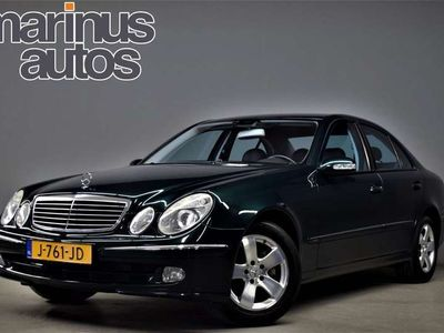 tweedehands Mercedes E320 225pk Avantgarde Automaat Leer/Navi/Navi/Pdc/177dk