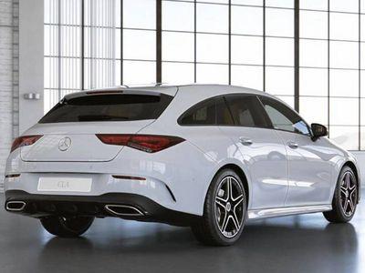 tweedehands Mercedes CLA220 Shooting Brake CLA-Klasse Automaat AMG Line | Nightpakket