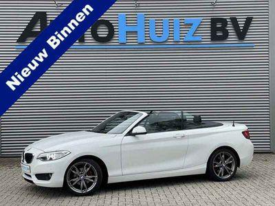 tweedehands BMW 218 218 Cabrio i Executive Xenon Stoelverwarming 18 Inc