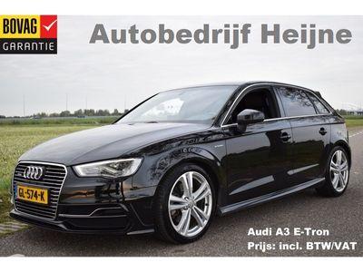 "tweedehands Audi A3 Sportback e-tron 204PK S-LINE SPORT LEDER/ECC/18""LMV/LED"