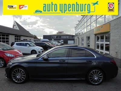 tweedehands Mercedes C220 CDI Prestige AMG-Line Automaat * Panoramadak * Leer * Navi * Xenon *