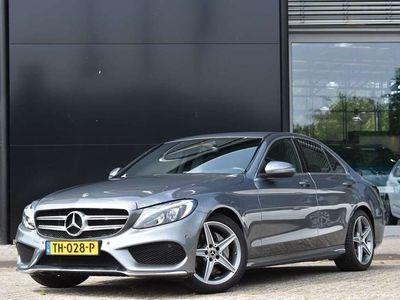 tweedehands Mercedes C180 Business Solution AMG Plus | Camera | LED | Alarm |..