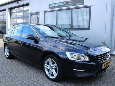 tweedehands Volvo V60 2.4 D6 Twin Engine Summum Cognac leer | Ex btw