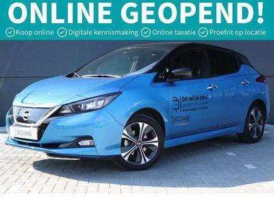 tweedehands Nissan Leaf e+ Tekna 62 kWh **DEMOVOORDEEL: VAN € 49.200,- VÓÓR € 37.945,- RIJKLAAR!**