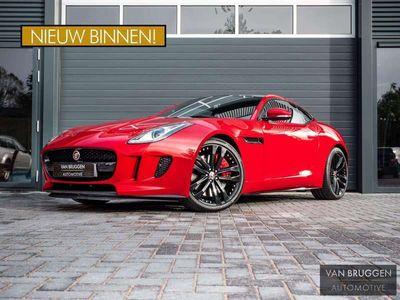 tweedehands Jaguar F-Type 3.0 V6 Coupé S/C 340pk- Pano, Alcantara, Xenon, Sp