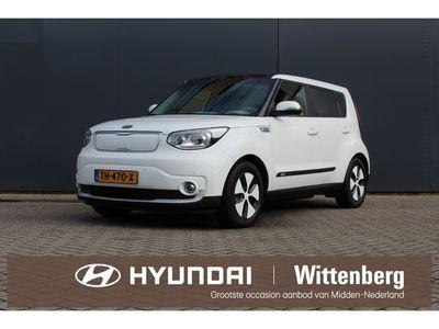 tweedehands Kia Soul EV Edition 30kWh Aut.   € 2000,- Subsidie!   BTW-vrij   Panoramadak   Navigatie   Camera   Parkeersensoren  