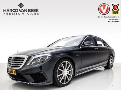 tweedehands Mercedes S63 AMG AMG 4Matic Lang Nw. Prijs €225.445. Memory+ Distronic+ Burmester Pano