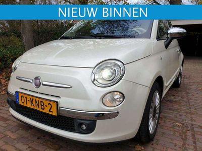 tweedehands Fiat 500 1.2 Aut. Lounge Xenon/Ecc/Leer/Pano/Pdc