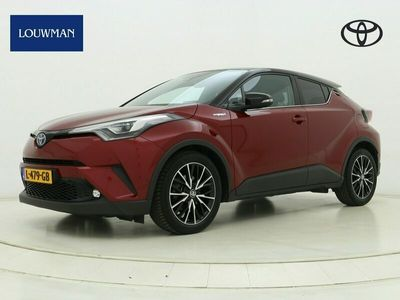 tweedehands Toyota C-HR 1.8 Hybrid Bi-Tone Plus   Leder   Navigatie   Verwarmbaar stuur  
