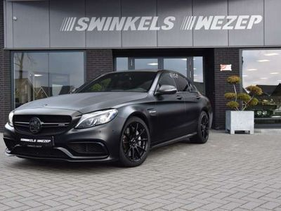 tweedehands Mercedes C63 AMG AMG Mechanisch Sper, burmester