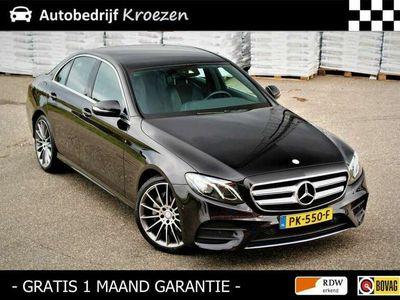 tweedehands Mercedes E220 ///AMG Pakket * Wide Screen * Led * Leder * Sfee