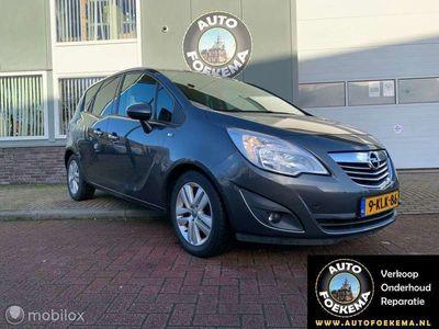 tweedehands Opel Meriva 1.4 Turbo Cosmo, Airco/clima, trekhaak, zeer nette auto