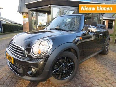 tweedehands Mini One Cabriolet chili 1.6 airco