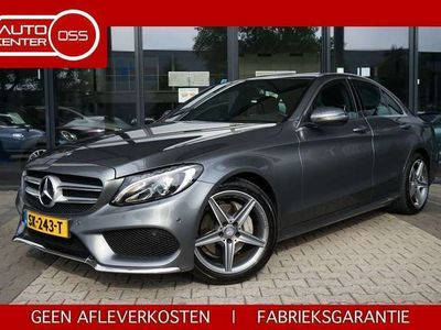 tweedehands Mercedes C180 | AMG | GAR. 2022 | LEDER | CAMERA | LED | NAVI |