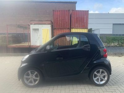 tweedehands Smart ForTwo Coupé 1.0 mhd Pure Airco Pano Leer Automaat