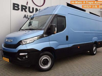 tweedehands Iveco Daily 35S21A8 3.0 204pk, Hi-Matic 8-Traps Automaat, Cruise, Airco, wb410 L4H2