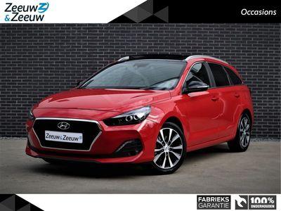 tweedehands Hyundai i30 Wagon 1.4 T-GDI 140PK Premium   Panoramadak   Keyless entry   Parkeercamera   Navigatie   Rij assistentiepakket  