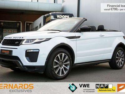 tweedehands Land Rover Range Rover evoque Convertible 2.0 TD4 HSE Dynamic