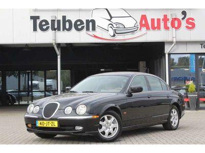 tweedehands Jaguar S-Type 3.0 V6 airco, climate control, radio cd speler, cr