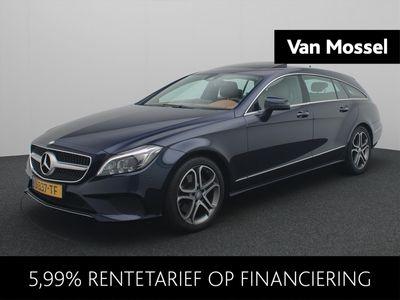 tweedehands Mercedes E250 CLS Shooting Brake d Aut. (360Cam/Leder/Schuifdak/H&k)