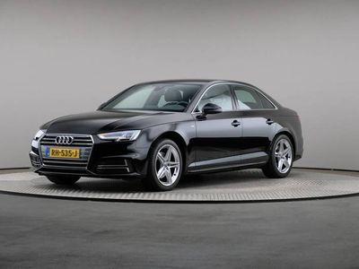 tweedehands Audi A4 Limousine 1.4 TFSI Sport S line Edition, Automaat, LED, Navigatie