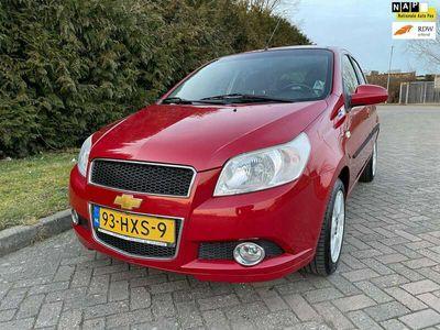 tweedehands Chevrolet Aveo 1.4 16V LS,Bj 2009,Automaat,Airco,Trekhaak,101pk,L