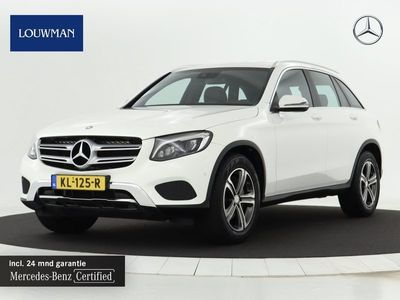 tweedehands Mercedes 250 GLC-KLASSE4MATIC Edition One | Navigatie| Airco | LM velgen | Sfeerverlichting | Cruise control Inclusief 24 MB Premium Certified garantie voor Europa.