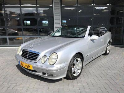 tweedehands Mercedes 200 CLK-klasse CabrioK AVANTGARDE AUTOMAAT NW STAAT YOUNGTIMMER