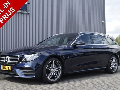 tweedehands Mercedes 200 E-KLASSE Estated Business Solution AMG camera, wide screen, navi, elek. achterklep, leder/alcantara