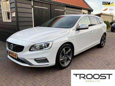 tweedehands Volvo V60 2.4 D6 Twin Engine R-Design AWD | Xenon|NAP|1e eig