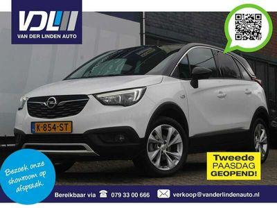 tweedehands Opel Crossland X 1.2T 110PK Navi, climate, cruise, PDC, AppleCarPla