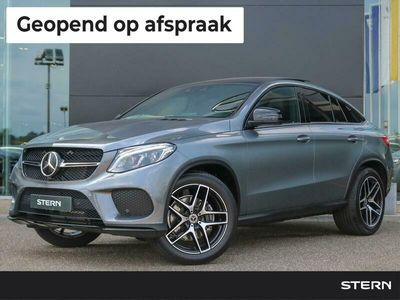 tweedehands Mercedes GLE350 GLECoupé Automaat 4MATIC AMG Line   Panoramadak   Distronic+   Comand Online   Sfeerverlichting   Stoelverwarming