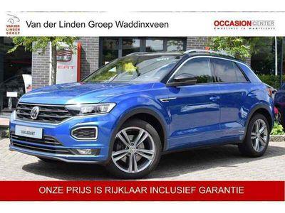"""tweedehands VW T-Roc 2.0 TSI 4Motion 190PK R-Line x2 Virtual/Navi/Cam """""""