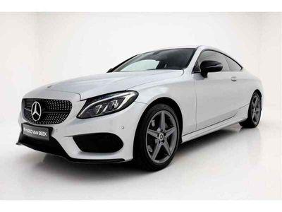 tweedehands Mercedes 180 C-Klasse CoupéPrestige AMG Nw. Prijs € 57.415 Night Camera Navi Geïnteresseerd?