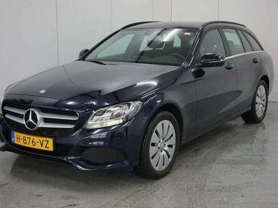 tweedehands Mercedes C300 Estate CDI HYBRID Prestige AUTOMAAT NAVIGATIE