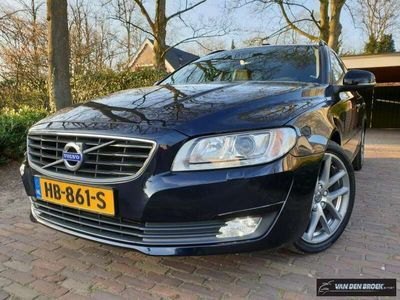 tweedehands Volvo V70 D4 180PK Dynamic Edition Led xenon/Leer/Navi/18 In