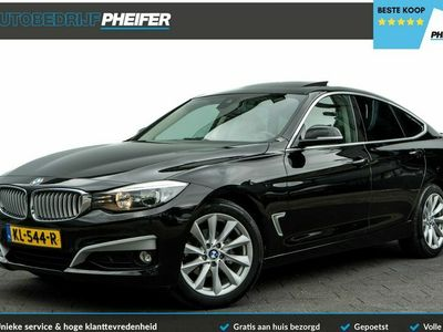 tweedehands BMW 318 3-SERIE Gran Turismo d 143pk High Executive Half lederen int./ Elek. panoramadak/ Stoelverwarming/ Cruise control