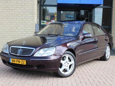 tweedehands Mercedes S600 V12 Automaat Lang/ALLE OPTIES/NWST