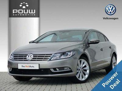 tweedehands VW CC 2.0 TDI 140pk DSG + Executive Plus Pakket + 17