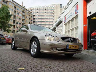 tweedehands Mercedes CLK200 Coupé Kompressor Elegance * NL Auto 3de Eigenaar Y