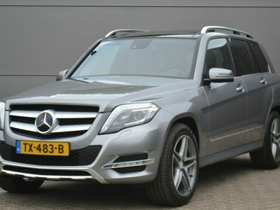 tweedehands Mercedes GLK350 CDI 4-M, Adaptive, Bi-Xenon, Clima, Elektr. Klep, Navi, Pano-dak, 19 inch AMG