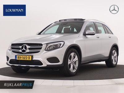 tweedehands Mercedes GLC350 GLC-Klassed 4MATIC Exclusive Panoramadak | Lederen bekleding | Achteruitrijcamera | Wegklapbare Trekhaak | Alarm