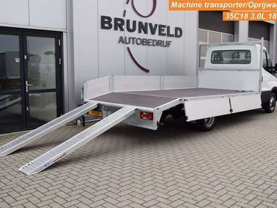 tweedehands Iveco Daily 35C18 3.0 180pk Euro 6, NIEUW ! Machine transport/